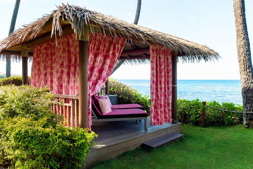 Los Huéspedes Piensan En Rosa En El Hyatt Regency Maui Resort And Spa