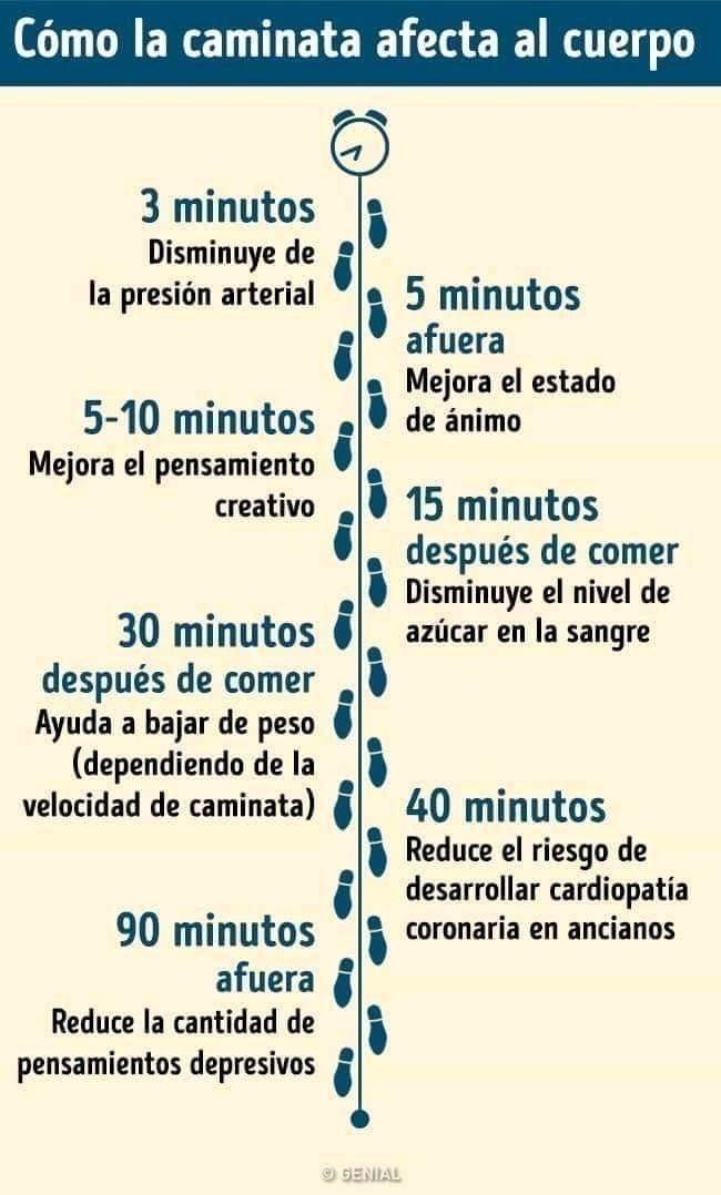 Como la caminata afecta al cuerpo