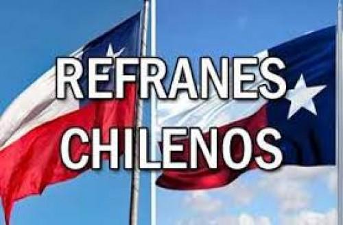 LISTA DE DICHOS POPULARES DE CHILE