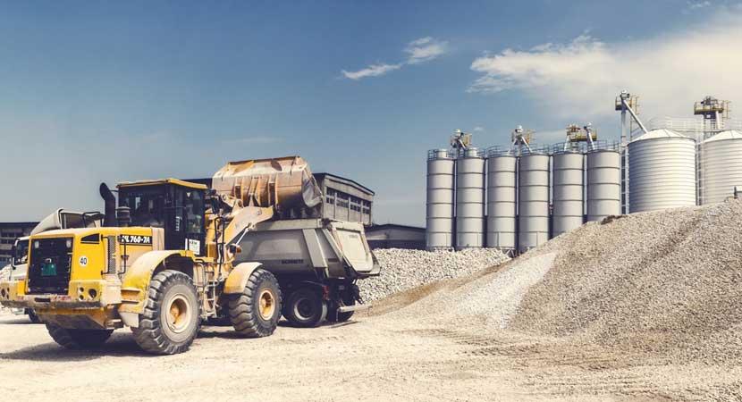 Camiones de maquinaria pesada