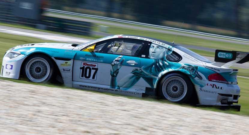 Automóvil de carreras de coches