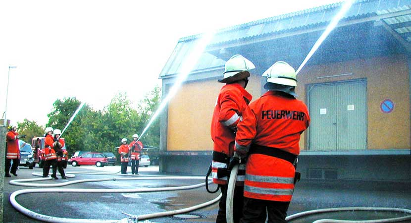 Fuego y rescate
