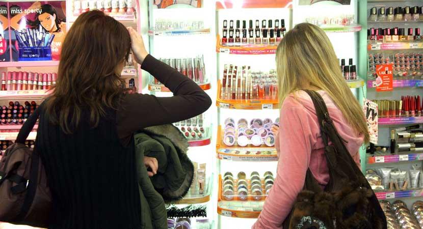 Tiendas de cosméticos