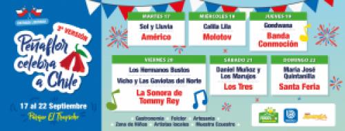 Peñaflor celebra a Chile