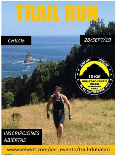 Trail Día Internacional del Turismo Duhatao y Chepu, comuna de Ancud
