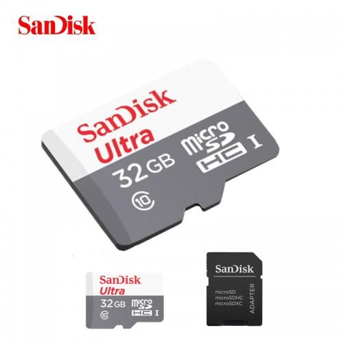 Tarjeta Memoria Micro Sd 32gb Sandisk 80mb/s Ultra