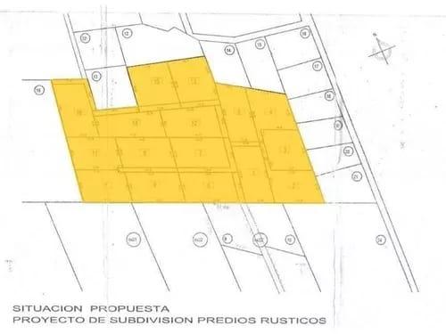 Terreno 88.000mt2 loteado para proyecto inmobiliario